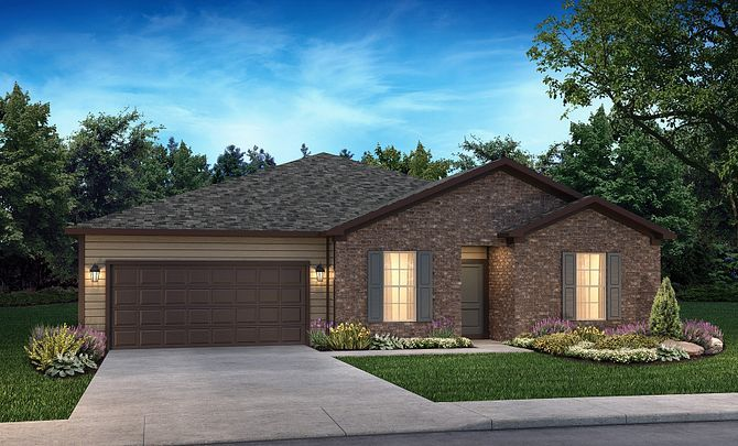 Proclaim Exterior D:Ext D: Modern Ranch; Color Scheme 29