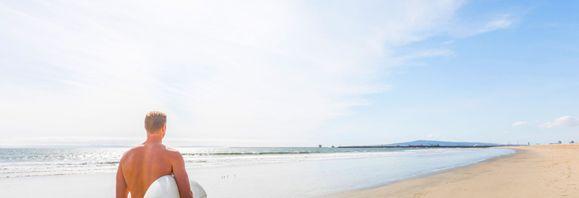 Seal Beach Surfer:Seal Beach