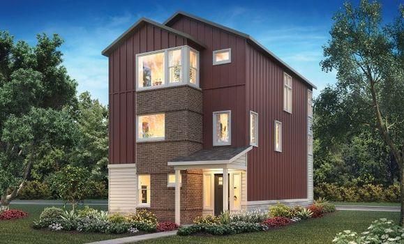 Exterior B: Modern Farmhouse