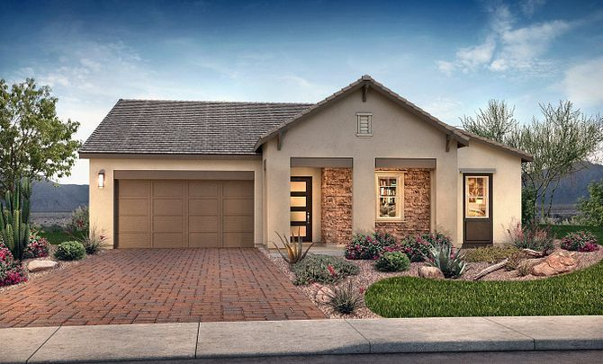 Plan 5012 Exterior C: Hill Country:Exterior C: Hill Country