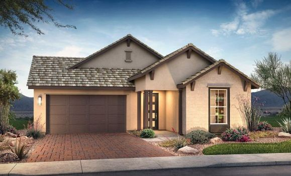 Plan 4013 Exterior C: Hill Country:Exterior C: Hill Country