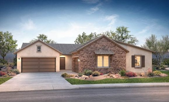 Plan 2 Exterior C: Hill Country:Exterior C: Hill Country