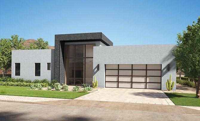 Residence 2 Single Level Exterior 2:Style 2