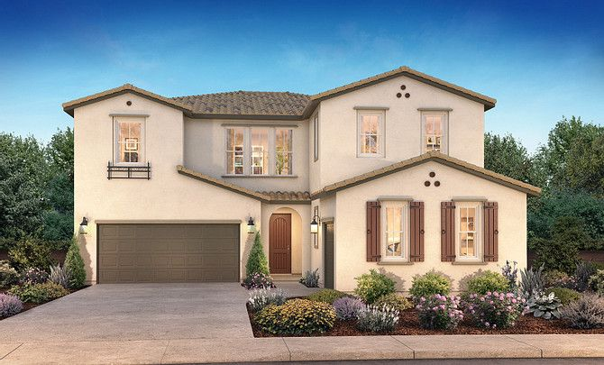 Vente Tracy Hills Ext Elevation Rendering Plan 3 A:Vente Plan 3A