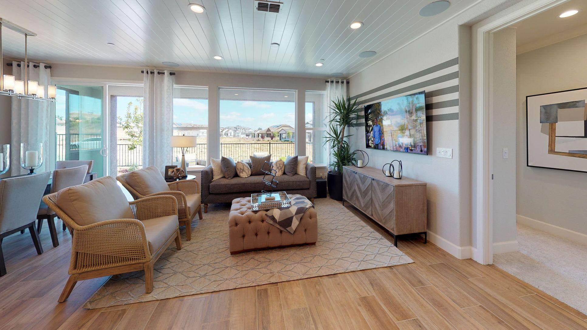 Interior:Aria Model Living Room