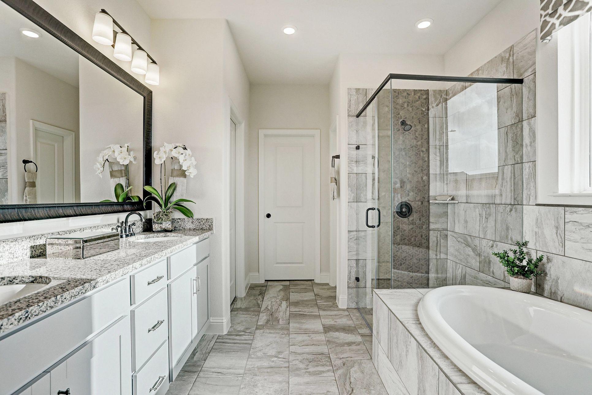 Meridiana 50 Plan 4069 Owner Bath:Plan 4069 Owner Bath