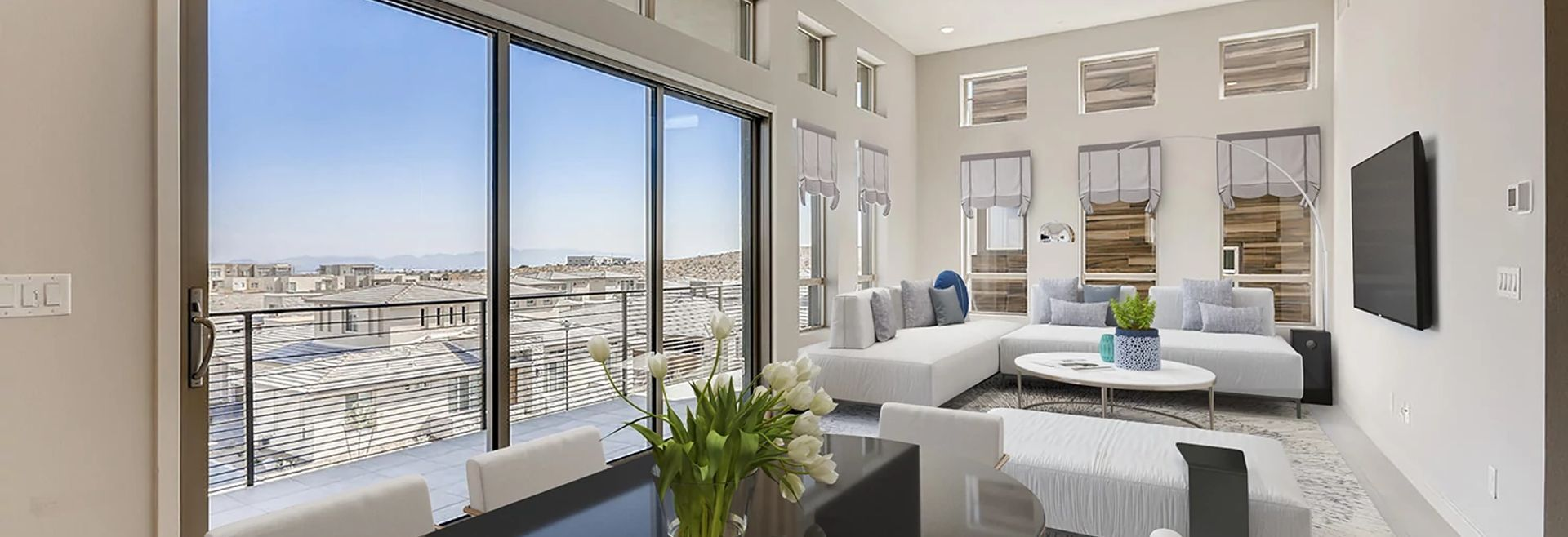 Trilogy Summerlin Summit Dining & Great Room:Summit Virtually Staged Dining & Great Room