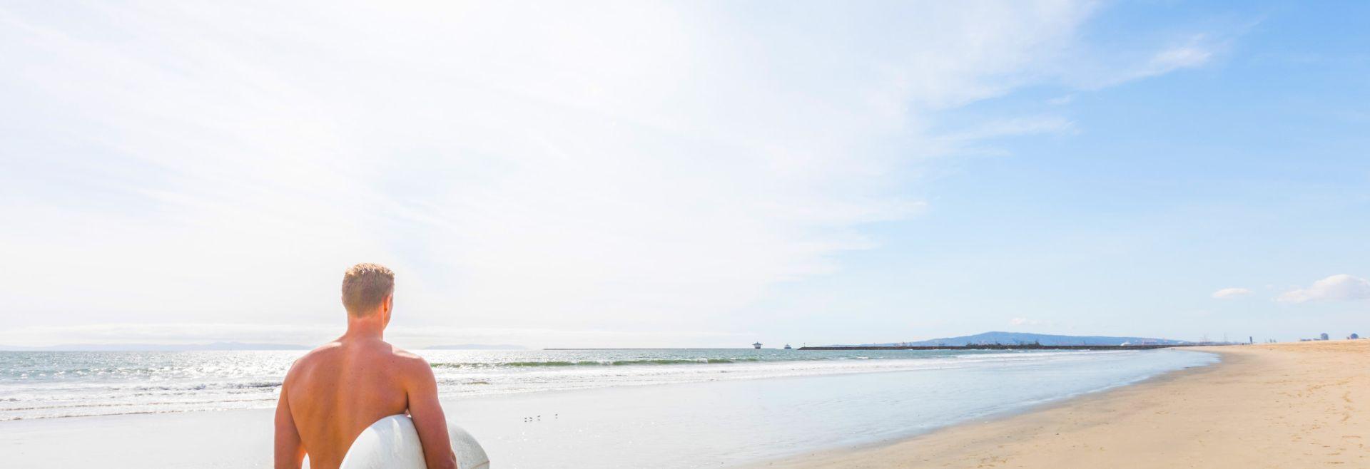 Seal Beach Surfer