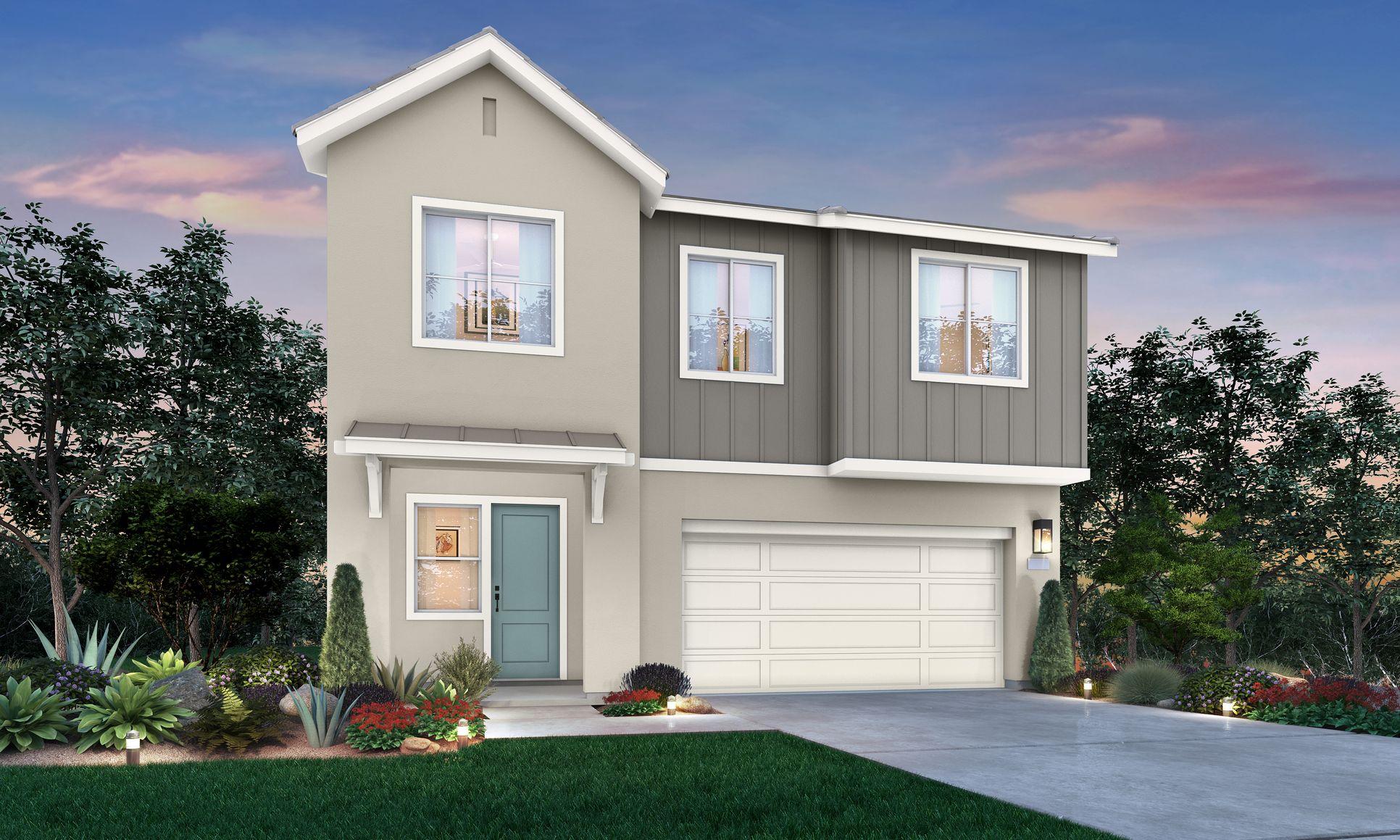 Residence 3B - Legacy at Folsom Ranch:Residence 3B - Legacy at Folsom Ranch