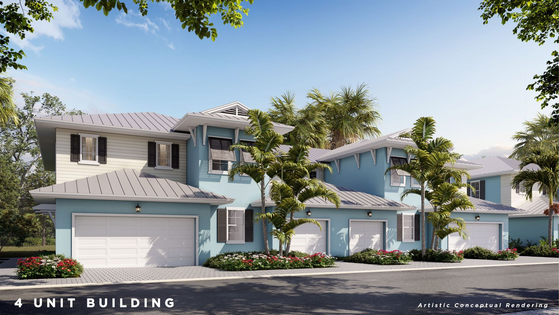4 Residence Building - Artistic Conceptual Rendering