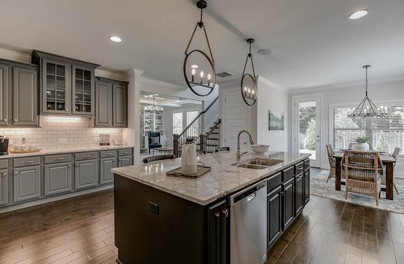 Designer Upgrades in Every Home:Granite Countertops, Custom Cabinets, and More!