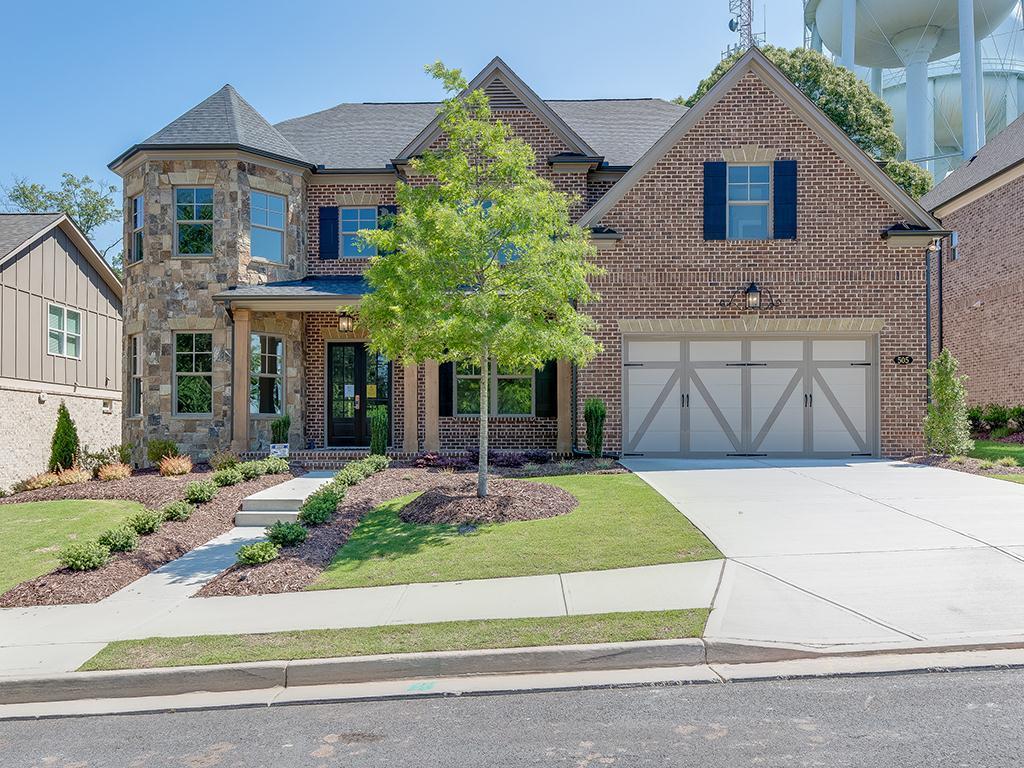 Homesite 15:4 Sided Brick Home