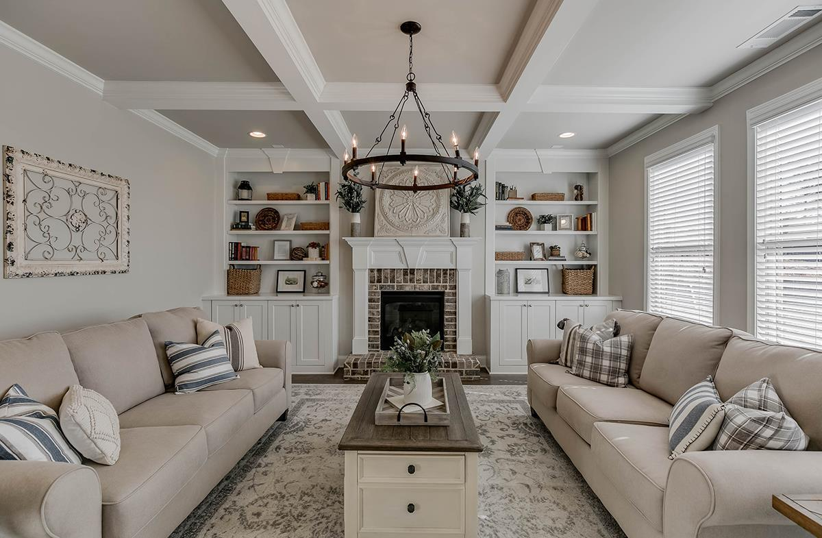 Built-Ins in Great Room