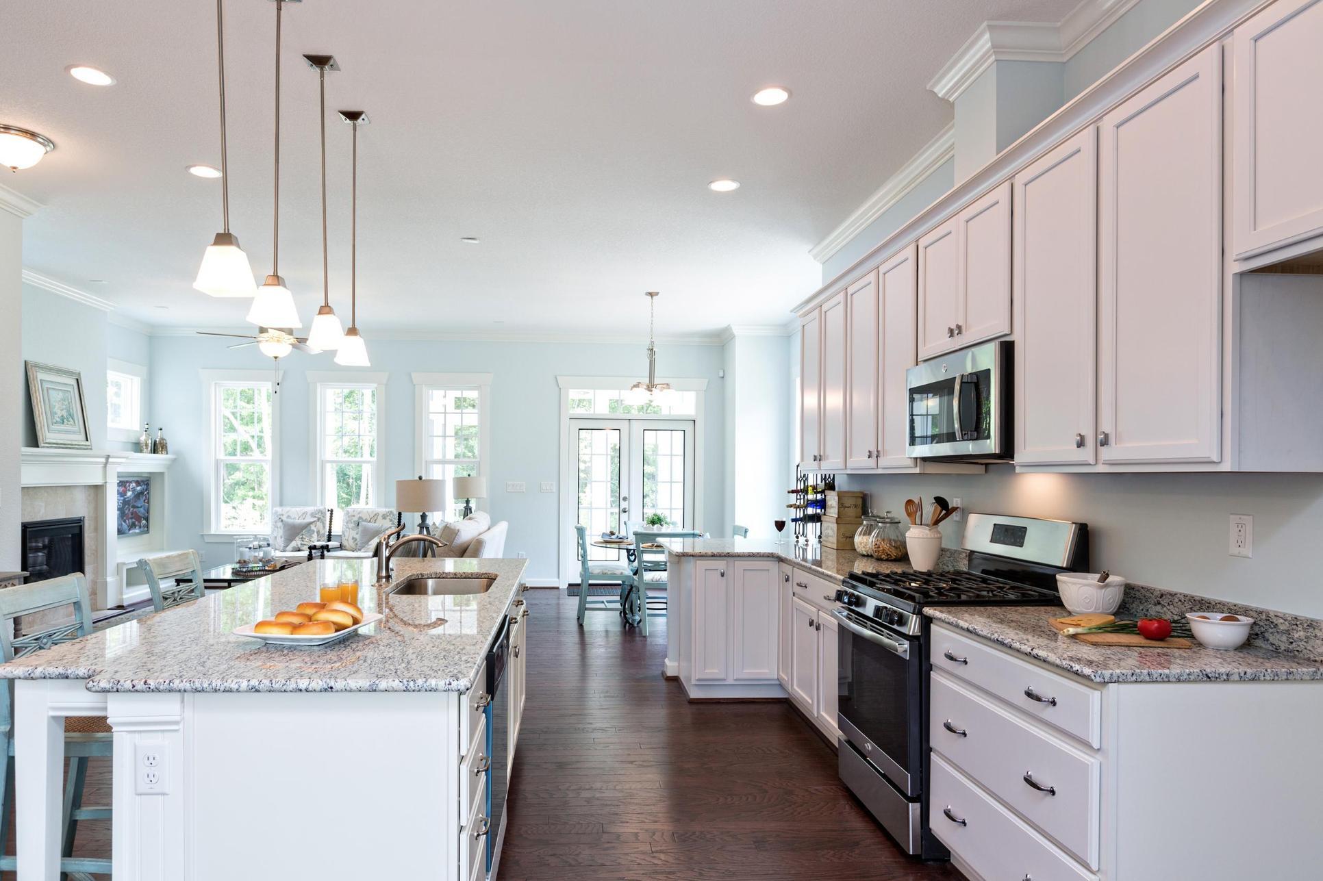 Interior:Kitchen Great Room