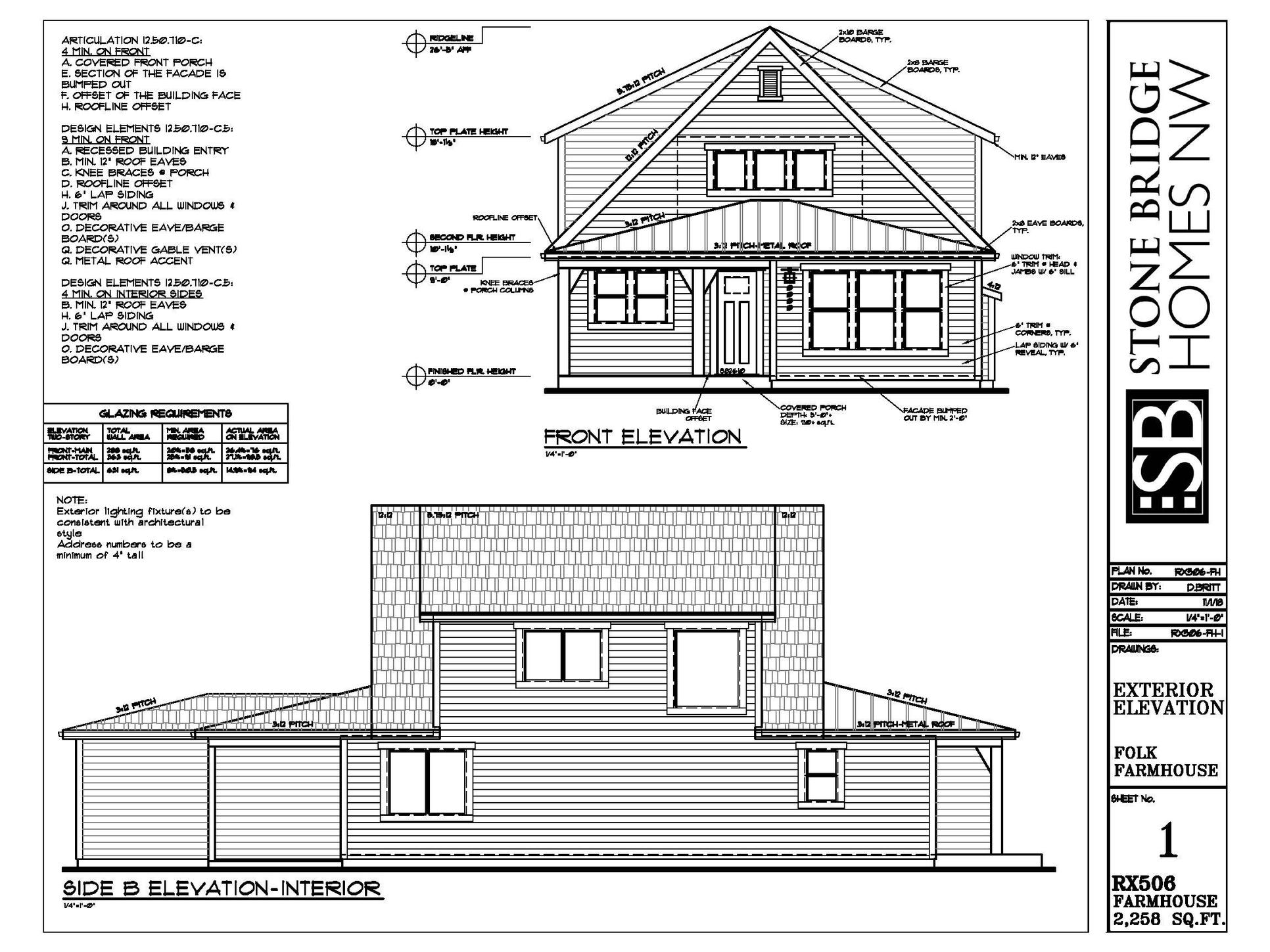 Wapato Front Elevation
