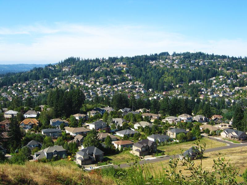 Mount Scott And Happy Valley