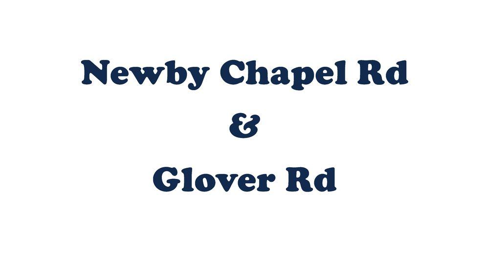Newby Chapel Rd & Glover Rd,35613