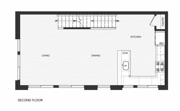 Building 1 Unit B:Second Floor