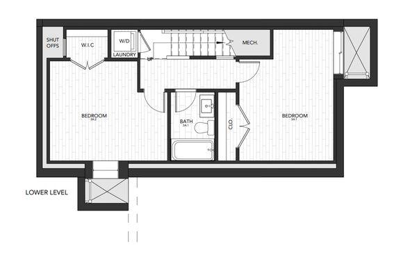 Building 3 Unit A:Lower Level