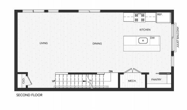Building 5 Unit B:Second Floor