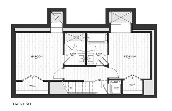 Building 6 Unit A:Lower Level