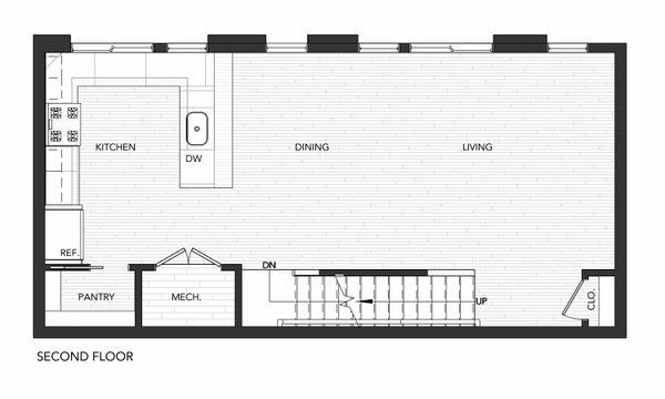 Building 6 Unit B:Second Floor