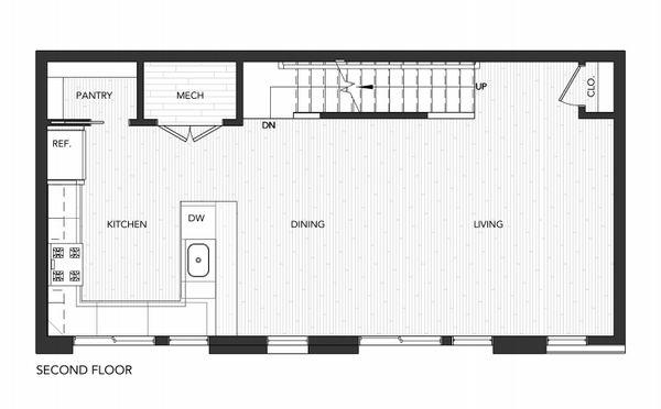 Building 2 Unit B:Second Floor