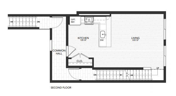 Plan 2:Second Floor