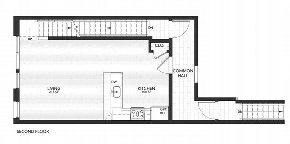 Plan 3:Second Floor