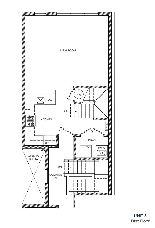 502 unit 3:First Floor