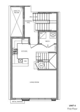 502 unit 4:First Floor