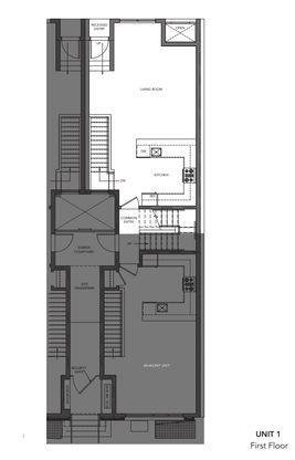 504, 508, 512, 516 Unit 1:First Floor