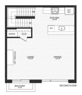 1112 B:Second Floor