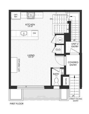 1119 A :First Floor
