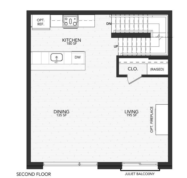 1115 B:Second Floor
