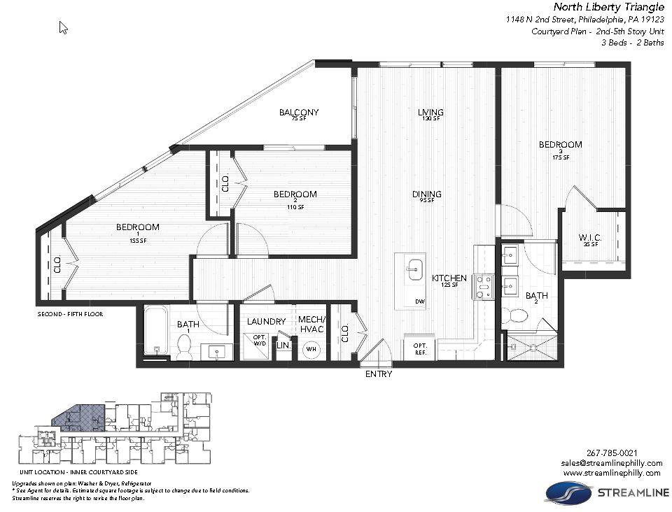 4B - Courtyard:Floor plan