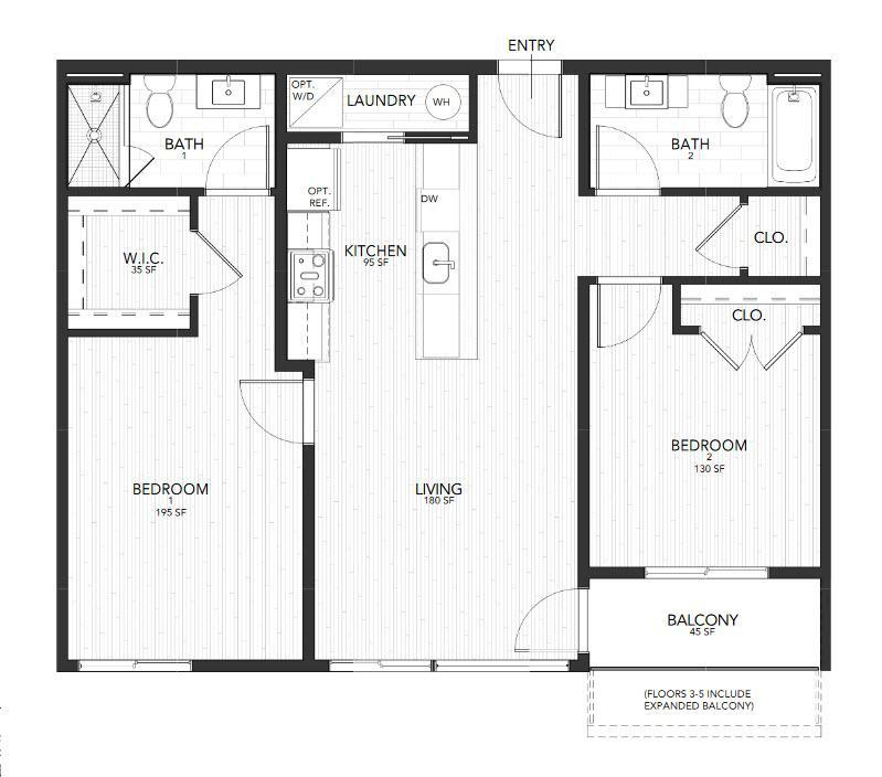 2H  Liberty  Plaza:Floor Plan