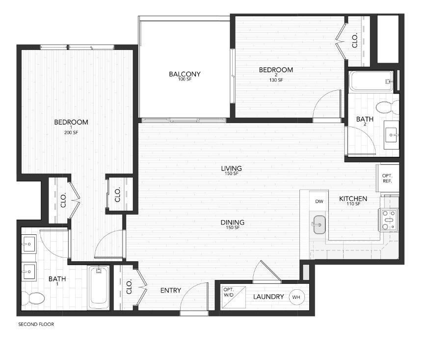 2D :Floor Plan