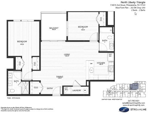 4D - West Point:Floor plan