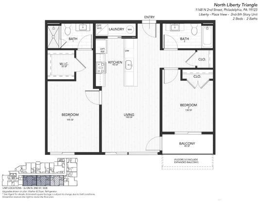 2G Liberty:Floor Plan