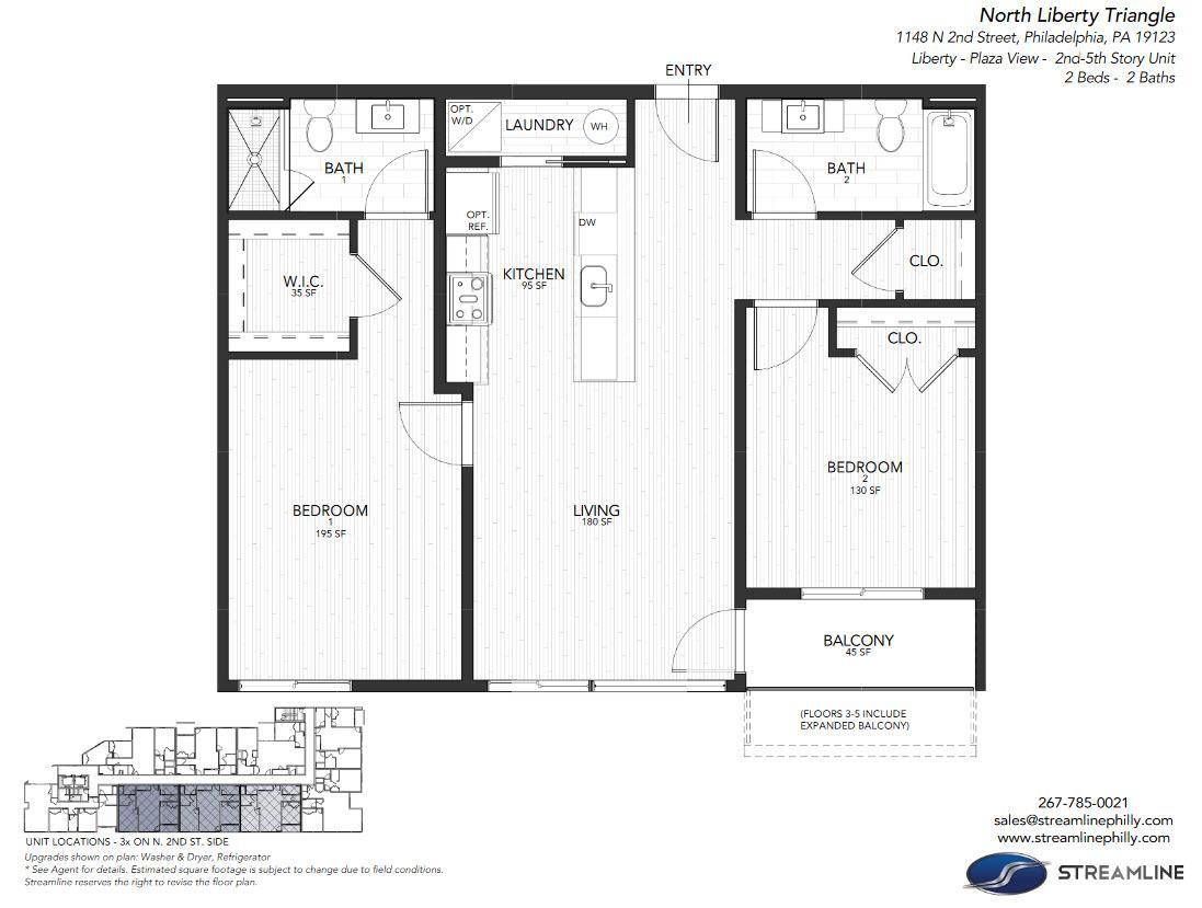 3H  Liberty  Plaza:Floor Plan