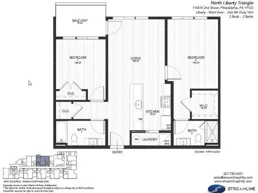 3C - Liberty - West:Floor plan