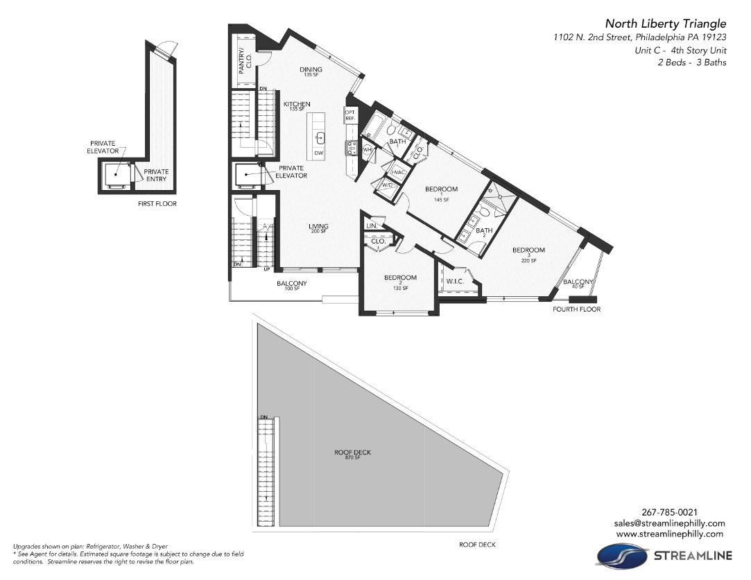 1102 unit c:Floor Plan