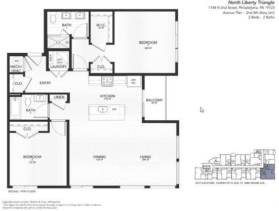 3F Avenue:Floor plan