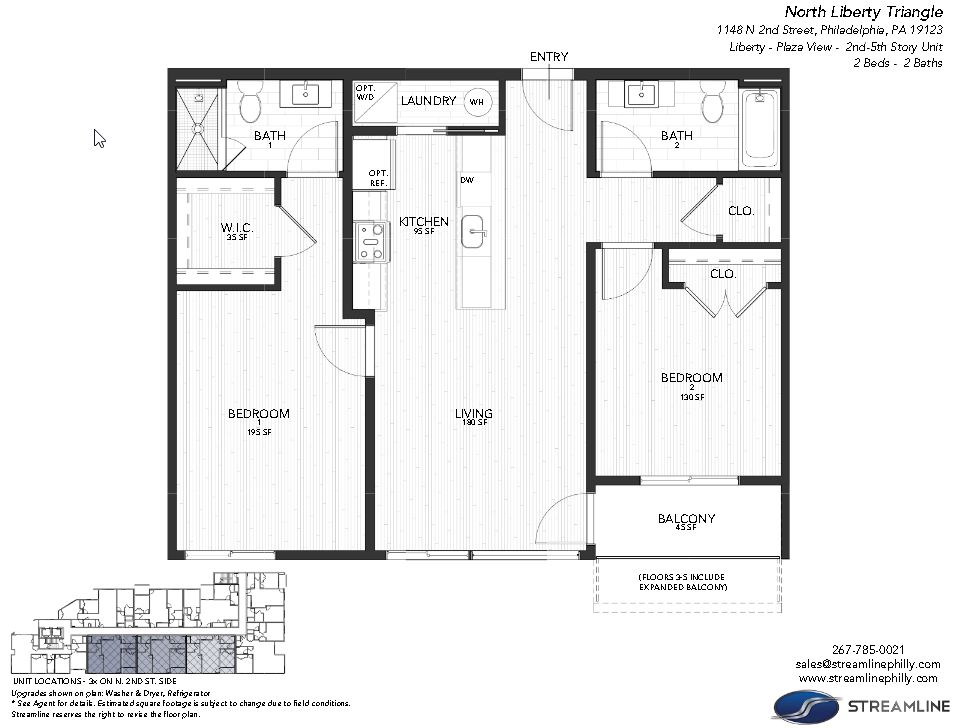 3G - Liberty - Plaza:Floor plan