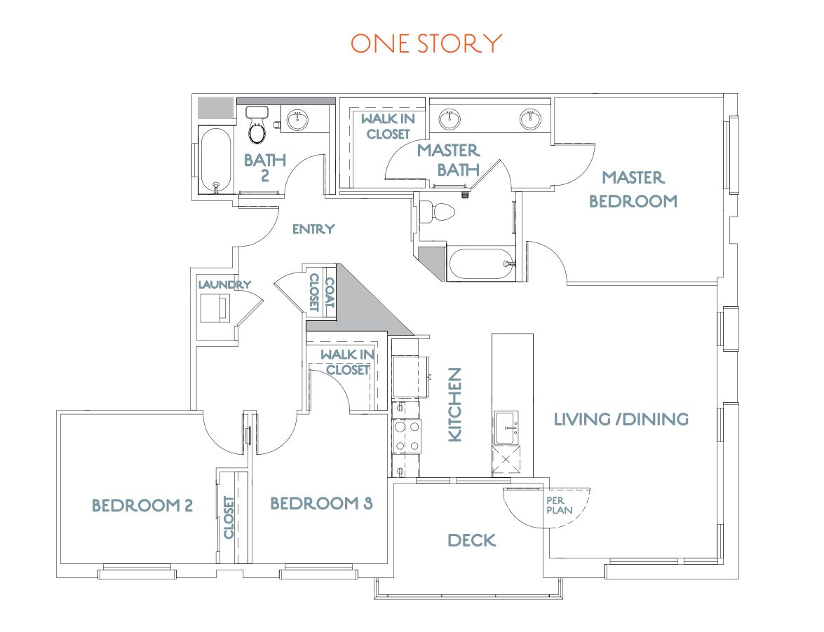 Flats 3:Floor Plan