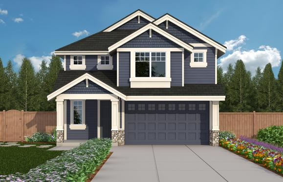 Exterior:CT 2460A - Elevation 1