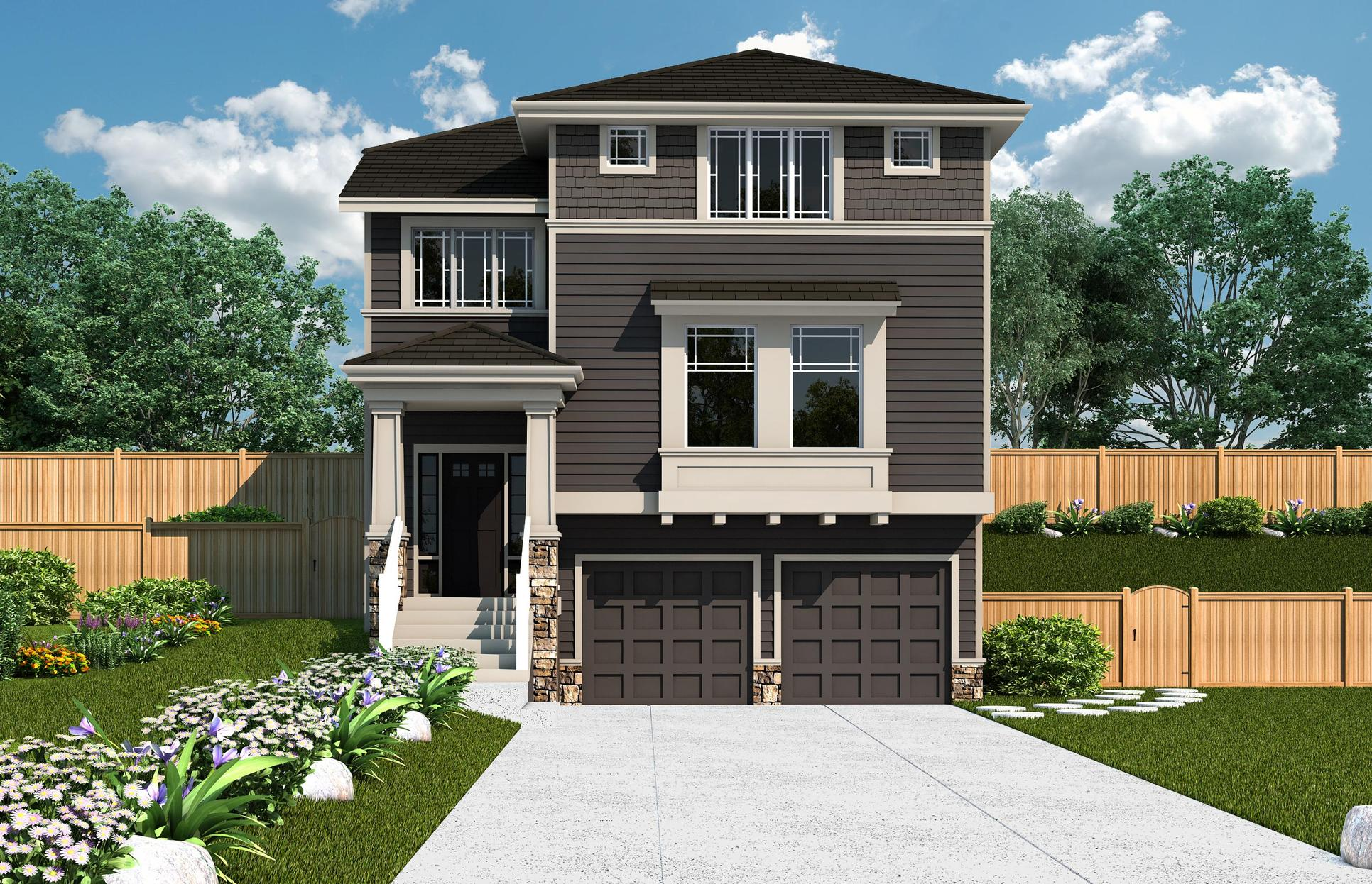 Exterior:CT 2696A - Elevation 1