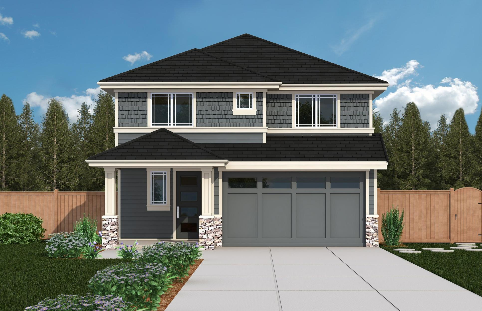 Exterior:CT 3082B - Elevation 1