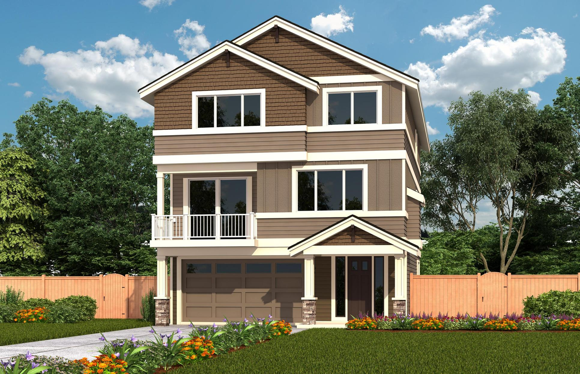 Exterior:CT 3083A - Elevation 1